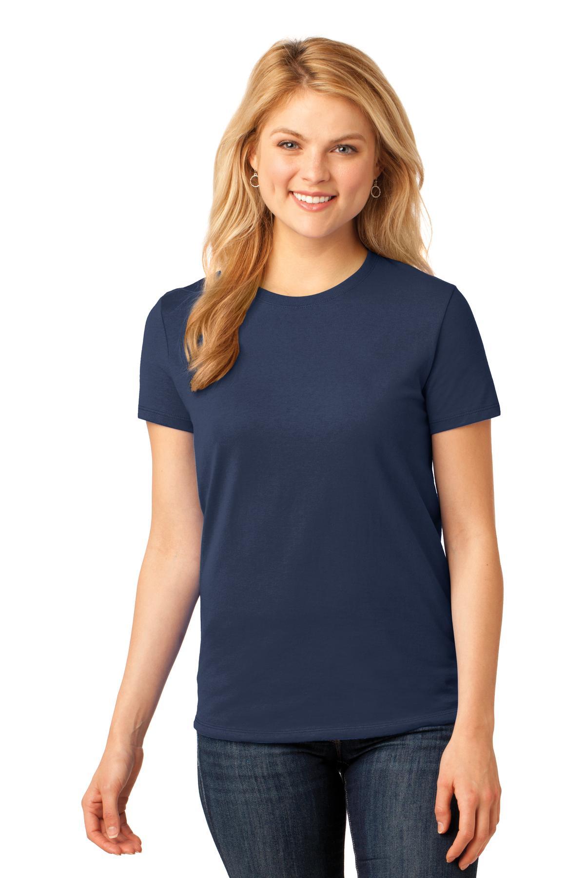 a94645fa4c Port & Company ® Ladies Core Cotton Tee. LPC54