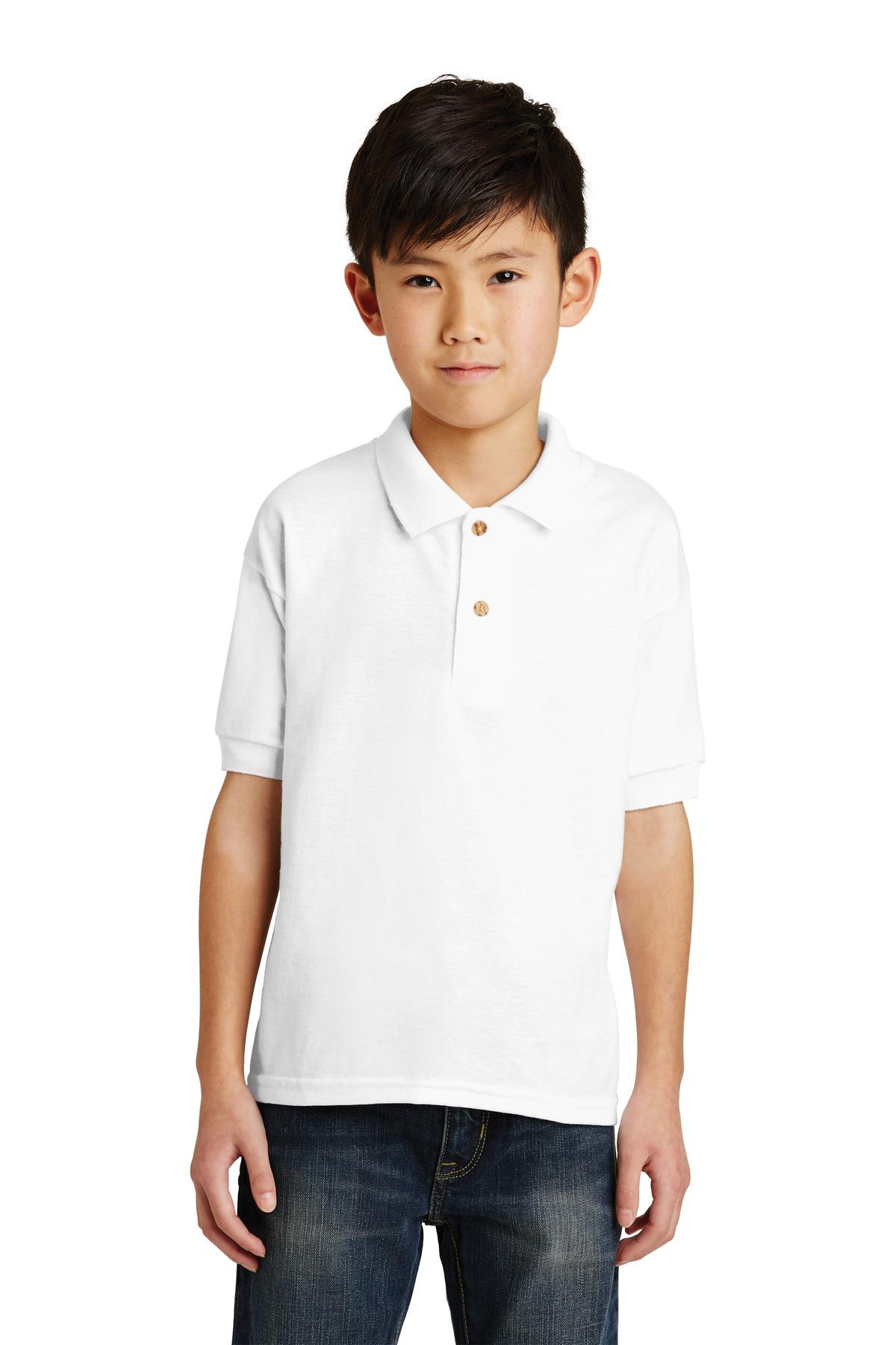 a09c415a217 Gildan ® Youth DryBlend ® 6-Ounce Jersey Knit Sport Shirt. 8800B
