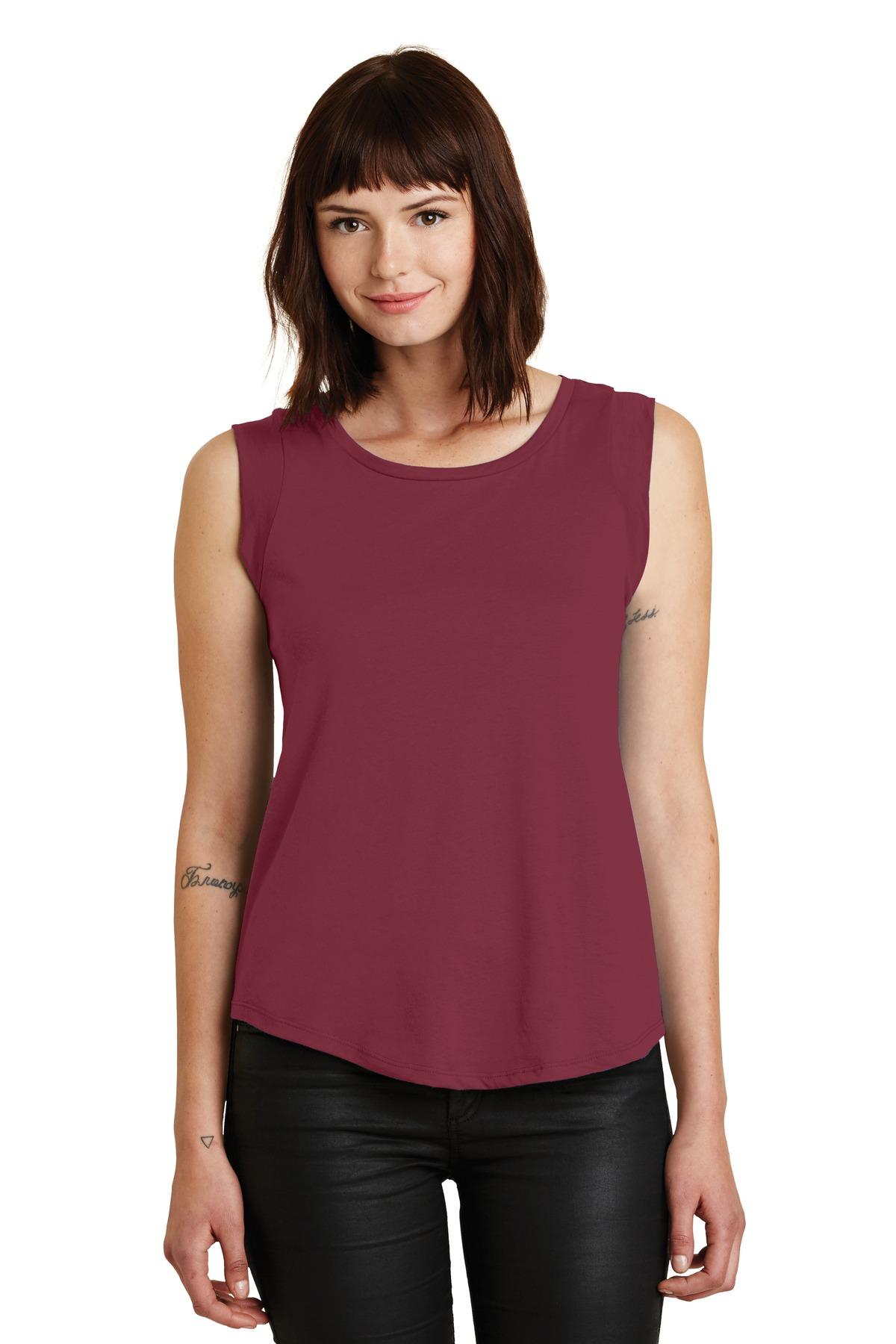 6cdb411bc6974 Alternative Women's Cap Sleeve Satin Jersey Crew T-Shirt. AA4013