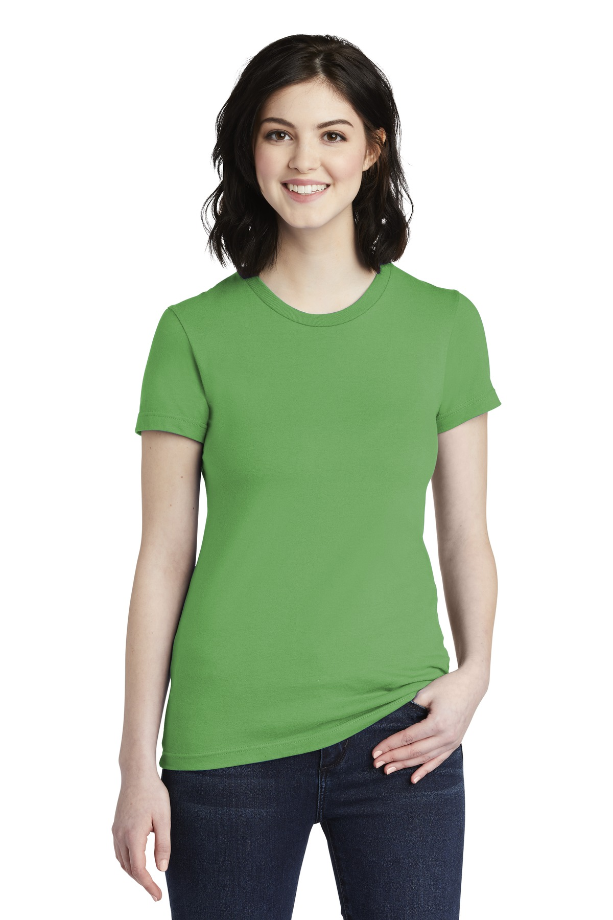 72f59968 American Apparel ® Women's Fine Jersey T-Shirt. 2102W - Apparel ...